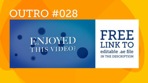 Introfy intro makes it simple free after effects outro template 028 pronofoot35fo Choice Image