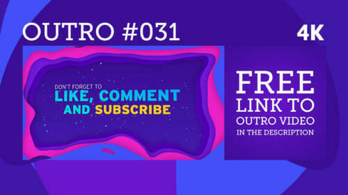 free outro template 031 4k
